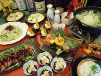 当店オリジナル宴会メニュー!柊の宴(飲み放題込み5,000円)
