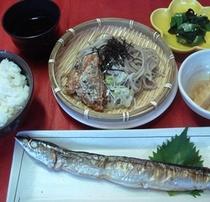 【さんま定食】白いご飯にぴったり焼き魚定食