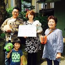 テンちゃん&ココアちゃんご家族