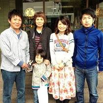 吉岡さんご家族
