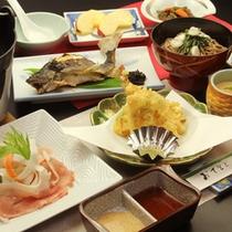 2012年冬のスタンダードプランのお料理イメージです