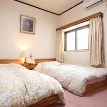 ツインルームのお部屋
