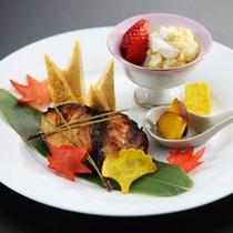 ≪ランチ≫焼魚御膳(サラダ・香物付)