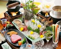 ☆☆☆☆☆夕食5つ星!島の味覚いいとこ取り♪地魚/アワビ/サザエ&オリーブ牛 【個室食】