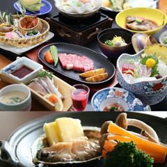 【夏休み☆】島では楽しいイベントが盛りだくさん!◇蚫のバター焼き&和牛鉄板焼きステーキ《個室食》
