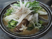 かき味噌鉄板鍋