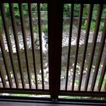 新客室から見た須雲川