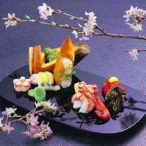 懐石一例:春前菜