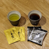 芳醇な贅の極み、KYOTO「祇園辻利・宇治玉露」や厳選したコーヒー。