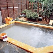 貸切露天風呂・ひのき『星の湯』