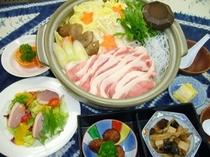 豚辛味噌鍋