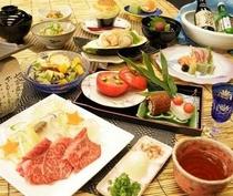 夏の華彩料理