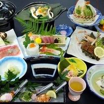 ご夕食イメージ(季節によりお料理内容は変わります。)