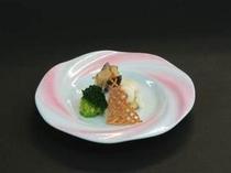 洋皿(銀むつと鮑のソテー)