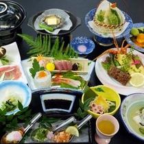 ご夕食イメージ【得々】(季節によりお料理内容は変わります。)