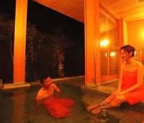 新館「陽邸 さなえ田」の清涼の湯