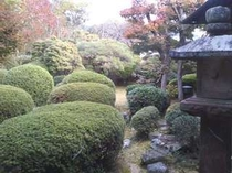 みかさ荘の庭園