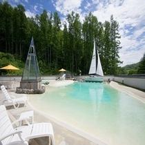 【500温泉ビーチ】