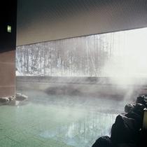 【■冬の露天風呂】