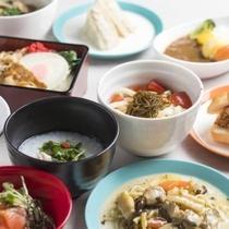 「Sports Garden Dining ア・ラ・ソーヤ」朝食ブッフェ