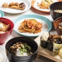 「Sports Garden Dining ア・ラ・ソーヤ」夕食ブッフェ