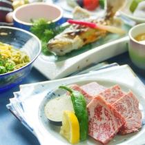 【岩井会席(一例)】旬のお食事をお楽しみください ※仕入れ状況により内容が異なる場合ございます