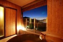 501神社側露天風呂付客室