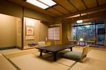 庭園側露天風呂付客室