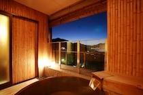 神社側露天風呂付数寄屋和室