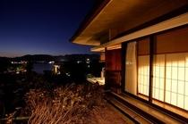 502号室からの夜景
