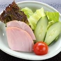 【朝食】生野菜