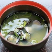 【朝食】味噌汁
