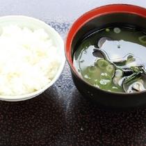 【朝食】御飯