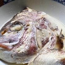 【蒸物】真鯛かぶと蒸