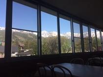 ダイニングルームからの眺望