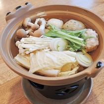 *【夕食一例】小鍋