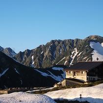 【周辺】立山連峰と立山高原ホテル