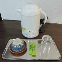 *【客室備品】ポット&お茶セット