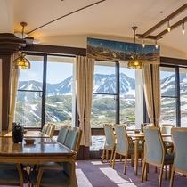 【館内一例】立山連峰が眺められるパノラマレストラン