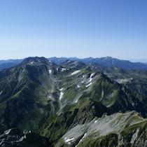 【周辺】剱岳の頂上より