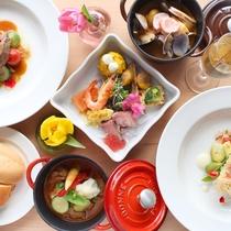 【ラグーナテンボス】お箸で食べるフランス料理♪フラワーラグーン内のレストラン「ラグーンの森」