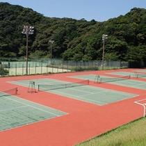 ●テニスコート(南紀スポーツ施設)