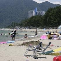 由良海水浴までは徒歩1分で到着!