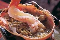 カニ味噌とエビ