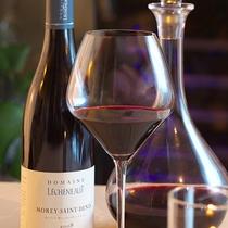 ■厳選されたフランスワインで料理とマリアージュ