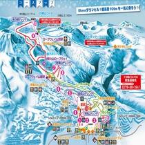 草津国際スキー場!コースマップ