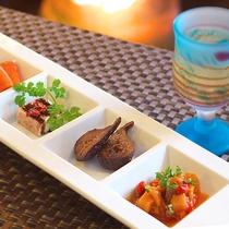 ■草津フレンチ 前菜イメージ