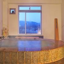 ■足湯付の展望風呂