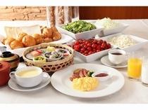 朝食イメージ(盛り付け例)