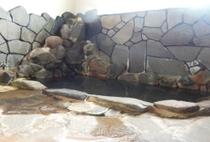 天然温泉掛け流し湯岩風呂